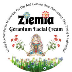 Website Product Image - Ziemia - Geranium Facial Cream