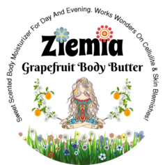 Website Product Image - Ziemia - Grapefruit Body Butter