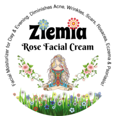 Website Product Image - Ziemia - Rose Facial Cream v2