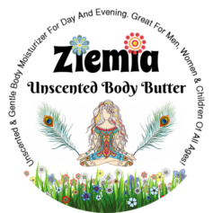 Ziemia - Unscented Body Butter - Moisturizing Lotion For Day and Night